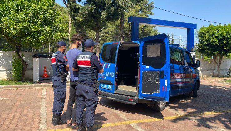 Jandarma cinayet zanlısını saklandığı bağ evinde yakaladı