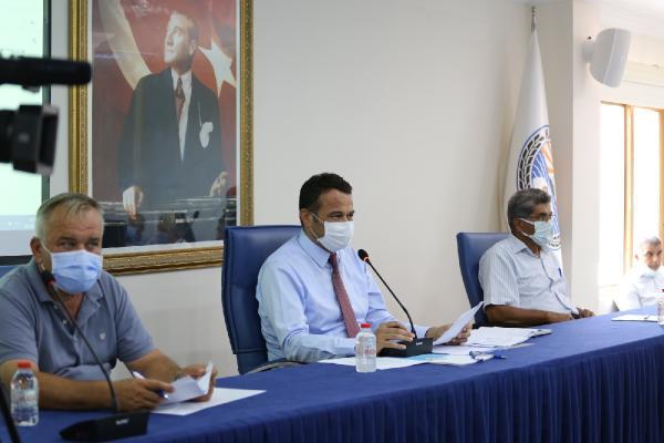 Kaş Belediyesi'nde eylül meclisi yapıldı