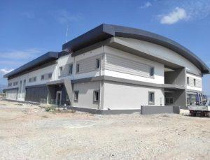 Kaş Ova Spor Salonu Projesi'nin ilk etabı tamamlandı