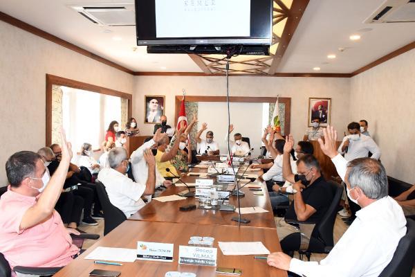 Kemer Belediyesi eylül ayı meclisi yapıldı