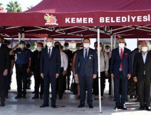 Kemer'de Gaziler Günü töreni düzenlendi