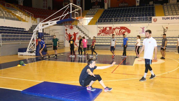 Kepez'de POMEM parkur hazırlık kursları başlıyor