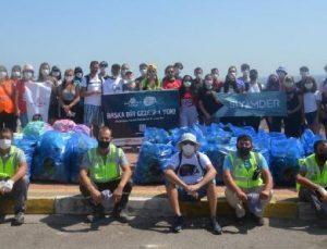 Kepez'den 'Dünya Temizlik Günü'nde çöp toplama etkinliği