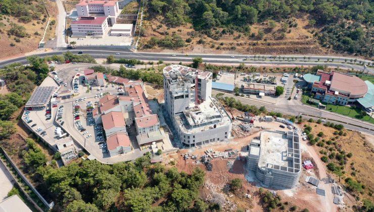Kumluca Hastanesi ek inşaatı bir yıl içinde tamamlanacak