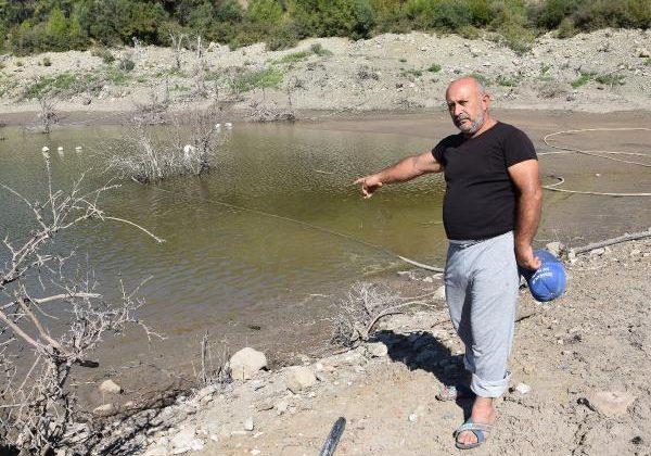 Kumlucalı üretici içme suyunun bağlanmasını istedi