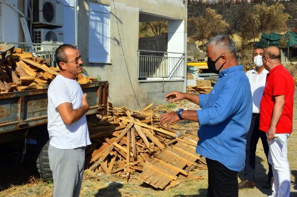 Manavgat Belediyesi afet bölgelerinde çalışmalarını sürdürüyor