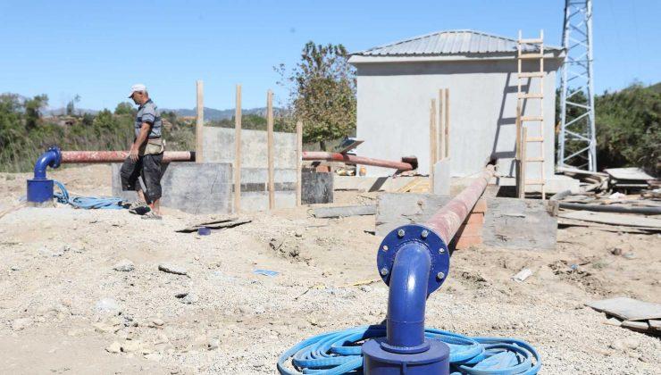 Manavgat Taşağıl ve Çardak bölgelerinde 5 bin dekar tarım arazisi suya kavuşuyor
