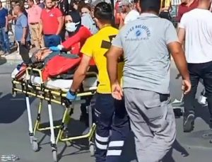 Motosiklet, elektrikli bisiklete çarptı; Ebru öldü, 2 çocuğu ağır yaralı