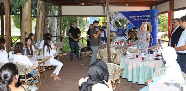 Rektör Özkan: Yabancı öğrenciler bizim tanıtım elçimiz