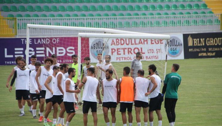 Serik Belediyespor Çorumspor FK maçı hazırlıklarını tamamladı