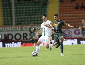 Süper Lig: Alanyaspor: 1 – GZT Giresunspor: 0 (İlk yarı)