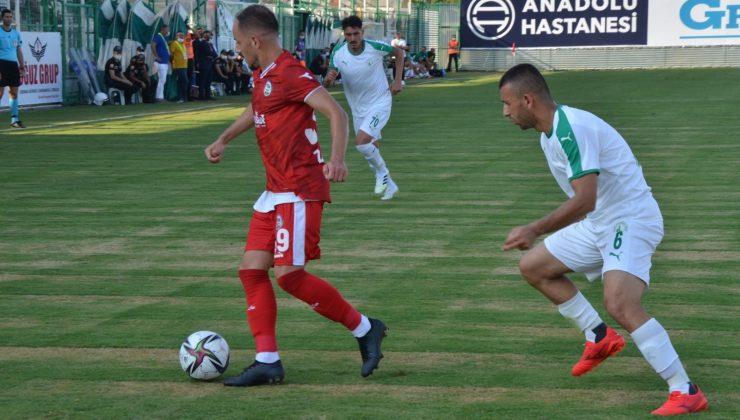 TFF 2. Lig: Serik Belediyespor – Sivas Belediyespor : 0 – 3