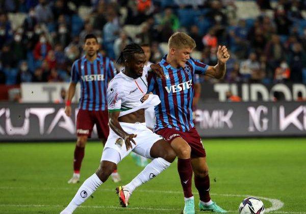 Trabzonspor – Aytemiz Alanyaspor: 1-1