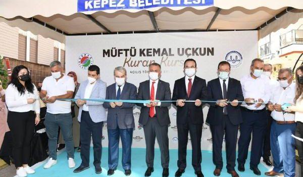 Vali Yazıcı, Müftü Kemal Uçkun Kuran Kursu'nun açılışını yaptı