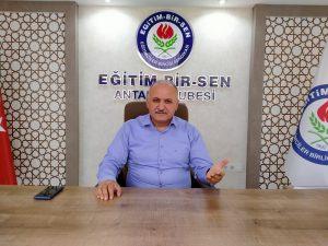 Antalya Muhittin Böcek Anadolu Lisesi'nde skandal olay!