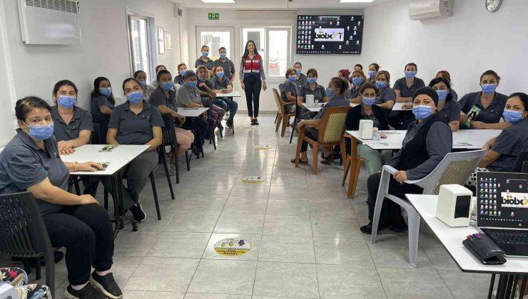 30 kadına narkotik eğitimi