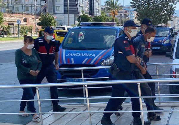 Alanya'da fuhuş baskını: 2 gözaltı