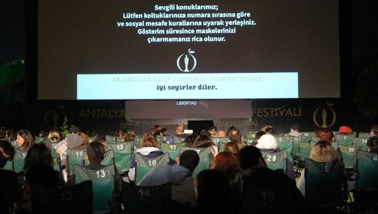 Altın Portakal Film Festivali, film gösterimi ve söyleşiler ile devam ediyor