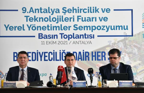 Antalya City Expo belediyeleri buluşturuyor
