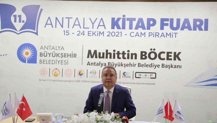 Antalya Kitap Fuarı 11. kez kapılarını açıyor