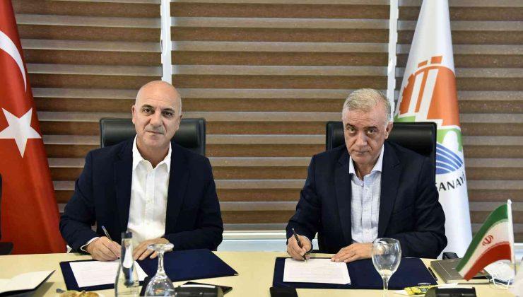 Antalya OSB'den  İran'a ihracat köprüsü