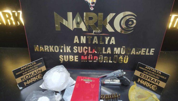 Antalya'da 4 günde 29 uyuşturucu operasyonu