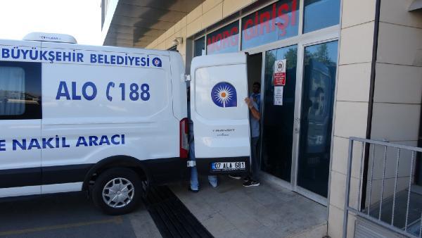 Antalya'da sobadan zehirlenen çift öldü
