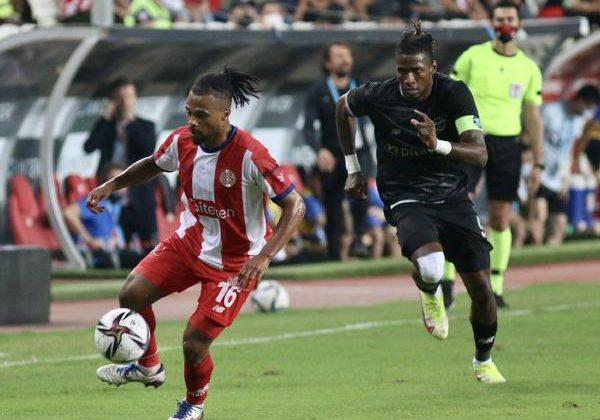 Antalyaspor, araya moralsiz girdi