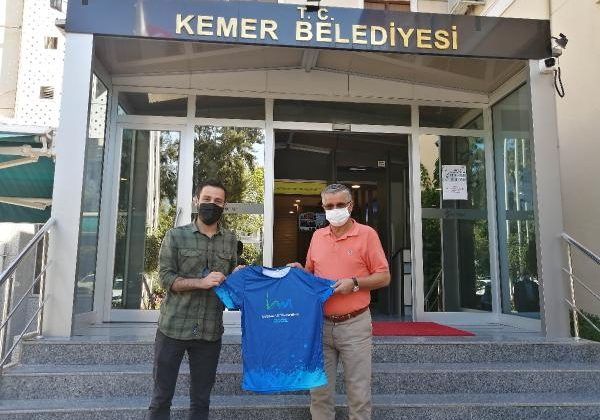 Başkan Topaloğlu'na 'Ultra Maraton' teşekkürü