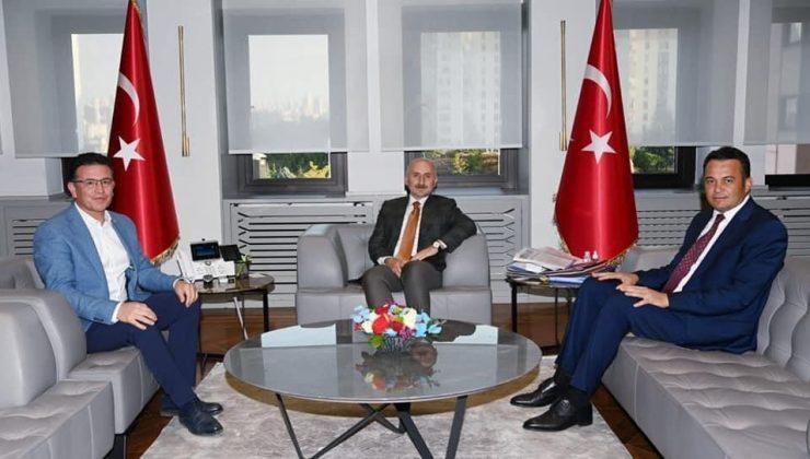 Başkan Ulutaş, hizmet ve yatırım takibi için Ankara'da temaslarda bulundu