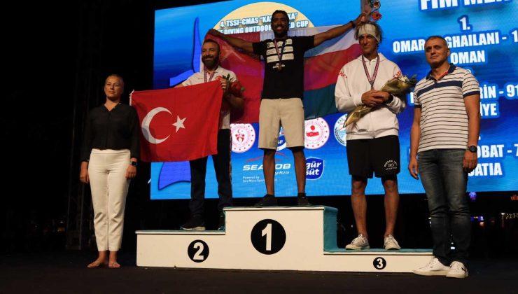 Dünya Şampiyonası ve 'Kaş Başka' Serbest Dalış Outdoor Dünya Kupası Madalyaları sahiplerini buldu