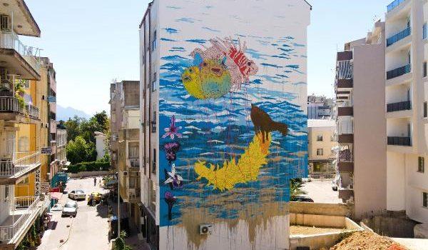 Duvar sanatı projesinde güç birliği