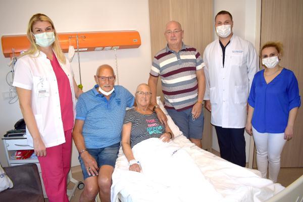 Hollandalı hasta ölümden döndü