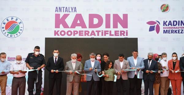 'Kadın Kooperatifleri Festivali' başladı