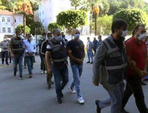 'Kartal Grubu' suç örgütüne 'Vurgun'da 9 tutuklama