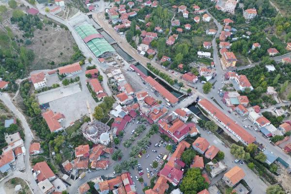 Kaş'ta Gömbe kentsel tasarım çalışmaları başladı