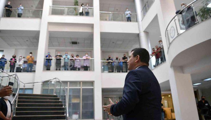 Kepez Belediyesi bu haftaya da müzik şöleniyle başladı