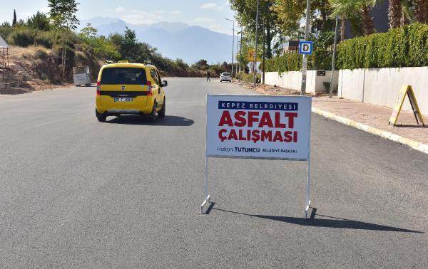 Kepez Çankaya'ya 1800 metrelik asfalt