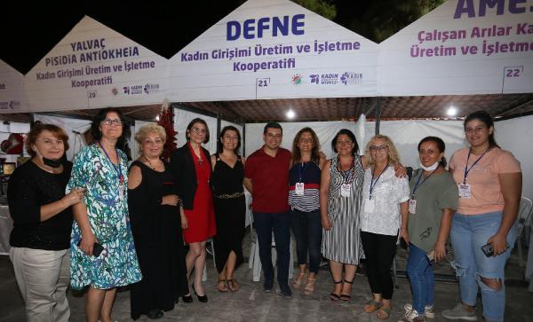 Kepez'in Kadın Kooperatifleri Festivali'ne ilgi büyük