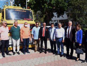 KETOB'dan Kemer Belediyesi'ne arazöz bağışı