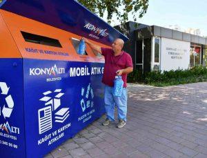 Konyaaltı'nda mahallelere mobil atık getirme merkezi yerleştiriliyor