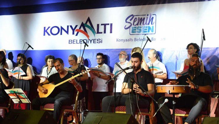Konyaaltı'nda Türk Sanat Müziği koroları için koristler yetiştirilecek