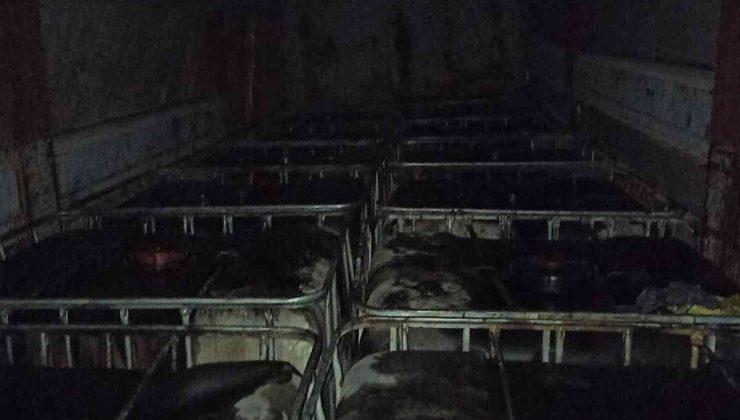 Korkuteli'de, 15 bin litre kaçak akaryakıt ele geçirildi