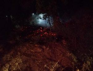 Kumluca'da 3 ayrı yerde eşzamanlı orman yangınları çıktı