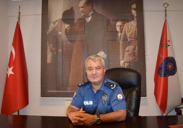 Kumluca'da yeni emniyet müdürü görevine başladı