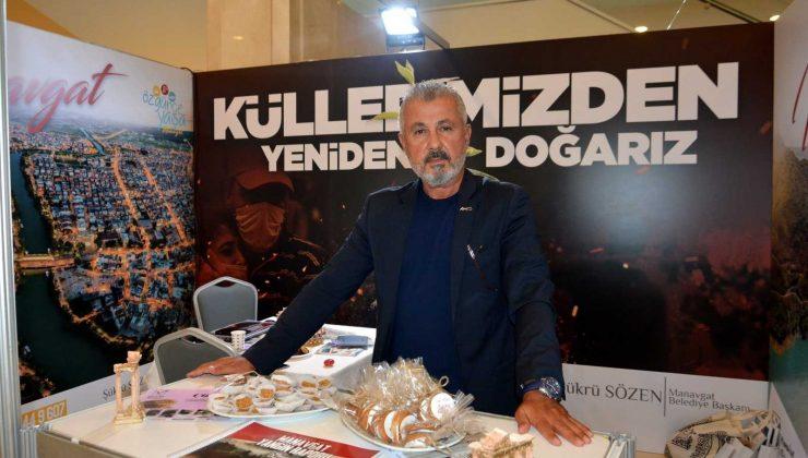 Manavgat'a 'Altın ilçe' ve 'Ulaşım Projesi' ödülü
