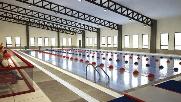 Manavgat'a yapılacak yarı olimpik havuzun ihalesi yapıldı