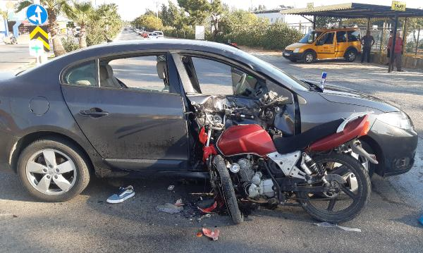 Manavgat'ta kaza: 2 yaralı