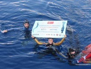 Milli dalgıç Şahika Ercümen'den dünya rekoru (2)
