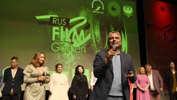 Muratpaşa Rus Film Günleri sona erdi
